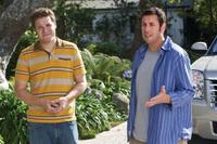 Seth Rogen as Ira and Adam Sandler as George in