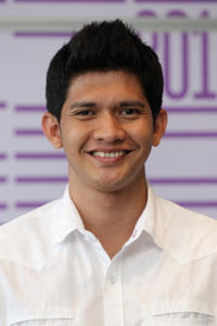 Iko Uwais at the photocall of 2011 Doha Tribeca Film Festival in Qatar.