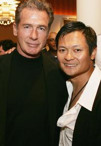 Jack Scalia and Andy Cheng at the afterparty for the premiere of