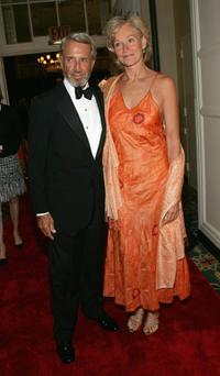 Roy Scheider and his wife Brenda King at the cocktail party for the 5th Annual Directors Guild of America Honors.