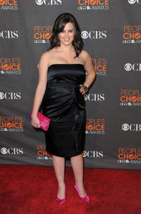 Katie Featherston at the People's Choice Awards 2010 in California.
