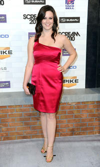 Katie Featherston at the Spike TV's