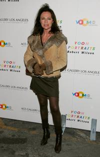 Jacqueline Bisset at the unveiling of Robert Wilson's