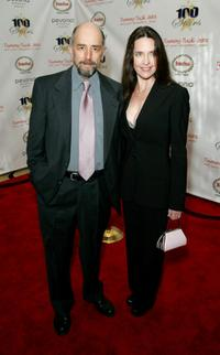 Richard Schiff and Sheila Kelley at the 18th Annual Night Of 100 Stars Gala.