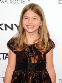 Taylor Geare at the screening of