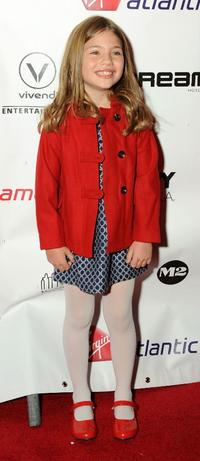 Taylor Geare at the premiere of