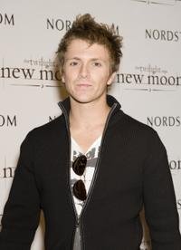 Charlie Bewley at the promotion of