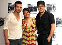 Jon Seda, Itati Cantoral and David Siquieros at the New York International Latino Film Festival screening of