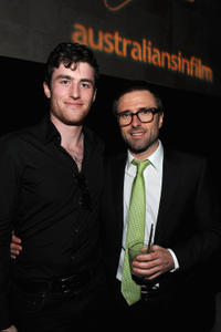 James Frecheville and David Michod at the 2011 Breakthrough Awards in California.