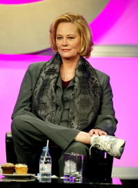 Cybill Shepherd at the panel discussion for