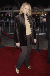 Cybill Shepherd at the premiere of