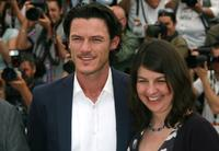 Luke Evans and Moira Buffini at the 63rd Annual Cannes Film Festival.