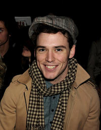 Sam Claflin at the Burberry Prorsum Show during the London Fashion Week Autumn/Winter 2011.