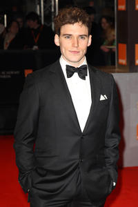 Sam Claflin at the Orange British Academy Film Awards in London.
