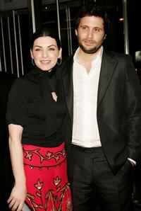 Jeremy Sisto and Julianna Margulies at the premiere of