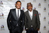 Terrence J and producer William Packer at the 9th Annual Ford Hoodie Awards.