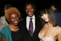 Joyce Griifen, Lionel Mark Smith and Bai Ling at the premiere of