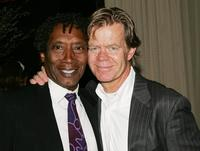 Lionel Mark Smith and William H. Macy at the premiere party of