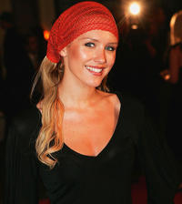 Nicky Whelan at the Melbourne premiere of