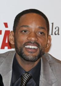 Will Smith at the Rome premiere of