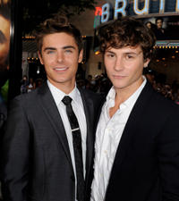 Zac Efron and Augustus Prew at the California premiere of