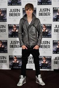 Justin Bieber at the photocall of