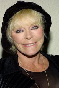 Elke Sommer at the Annual Norby Walters Holliday Party at the Friars Club.