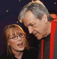 Sissy Spacek and Costa Gavras at the Charles Horman Truth Project Human Rights Awards.