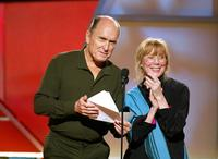 Sissy Spacek and Robert Duval at the 2003 IFP Independent Spirit Awards.