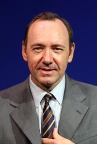 Kevin Spacey attends a news conference for their film