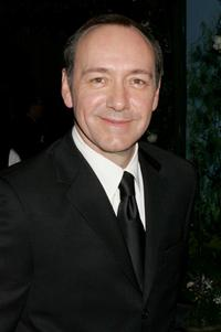 Kevin Spacey at the Weinstein Co. Golden Globe after party.