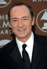 Kevin Spacey at the 48th Annual Grammy Awards in Los Angeles.