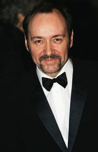 Kevin Spacey at the 'Laurence Olivier Awards' in London.