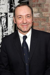 Kevin Spacey at the reception for Drama Desk nominees in New York City.