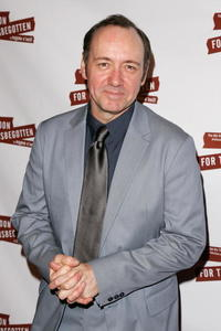 """Kevin Spacey at the after party for the opening night of """"A Moon For The Misbegotten"""" in New York City."""