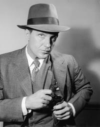 Promotional portrait of actor Robert Stack for the television series