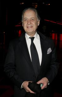 John Standing at the after party following the premiere of