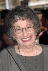 Florence Stanley at the premiere of