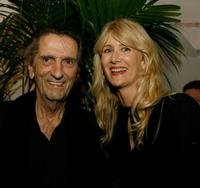 Harry Dean Stanton and Laura Dern at the AFI FEST 2006 for Centerpiece Gala screening of
