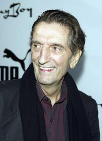 Harry Dean Stanton at the Puma Bodywear Launch Party.
