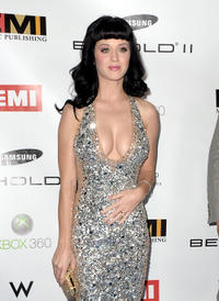 Katy Perry at the 2010 EMI GRAMMY party.