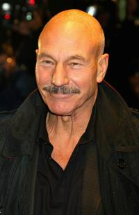 Patrick Stewart at the London premiere of