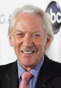 Donald Sutherland at the premiere for
