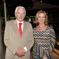 Donald Sutherland and Elizabeth Perkins at the premiere of Autonomous Picture's