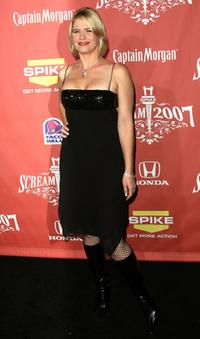 Kristy Swanson at the Spike TV's Scream 2007.