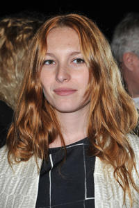 Josephine de la Baume at the Giambattista Valli Ready-To-Wear Fall/Winter 2012 show during the Paris Fashion Week in France.