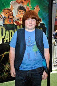 Tucker Albrizzi at the world premiere of
