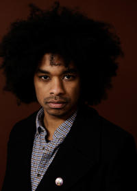 Terence Nance at the portrait session of
