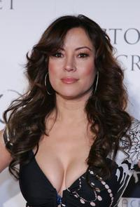 Jennifer Tilly at the after party for Victoria's Secret's debut of the