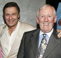 Joseph Bologna and Len Cariou at the premiere of